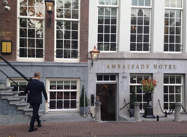 Ambassade hotel in Amsterdam