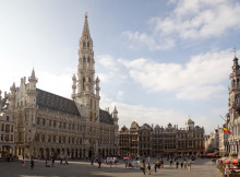 From Amsterdam to Brussels. Photo source: https://commons.wikimedia.org/wiki/File:2043-00091_stadhuis_van_brussel.jpg
