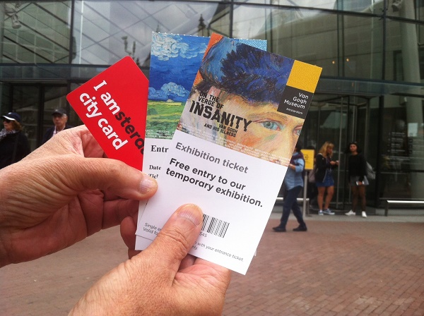 Free entrance to Van Gogh museum with I amsterdam city card