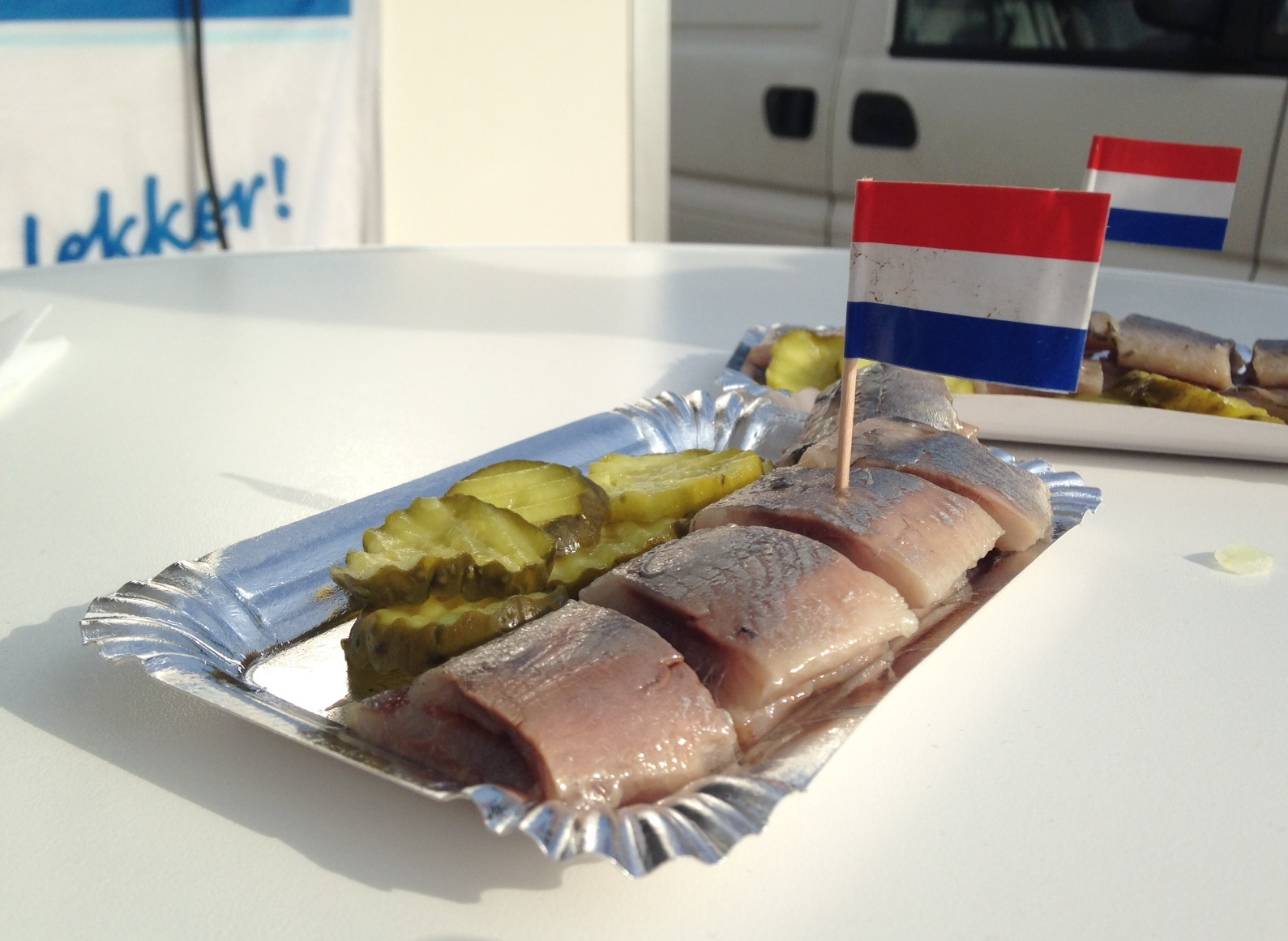 Vlaggetjesdag, herring festival in the Netherlands
