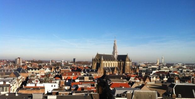 St.Bavo church in Haarlem