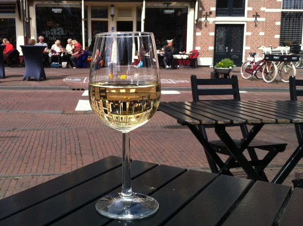 Haarlem, things to do, summer terrace Spaarne 66