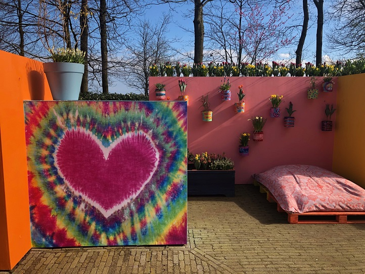 The Keukenhof theme for 2019: Flower Power