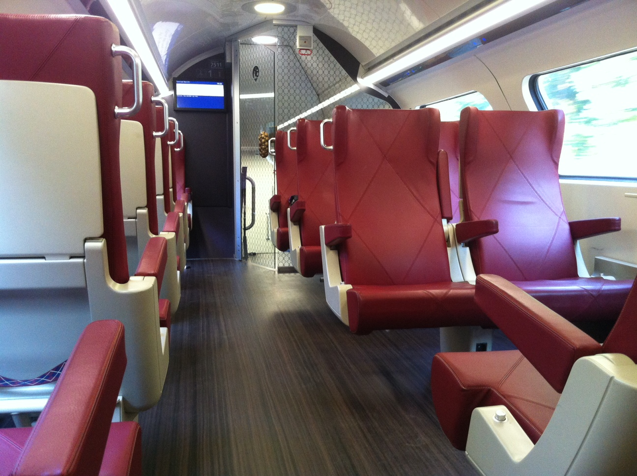 1st class train in Holland