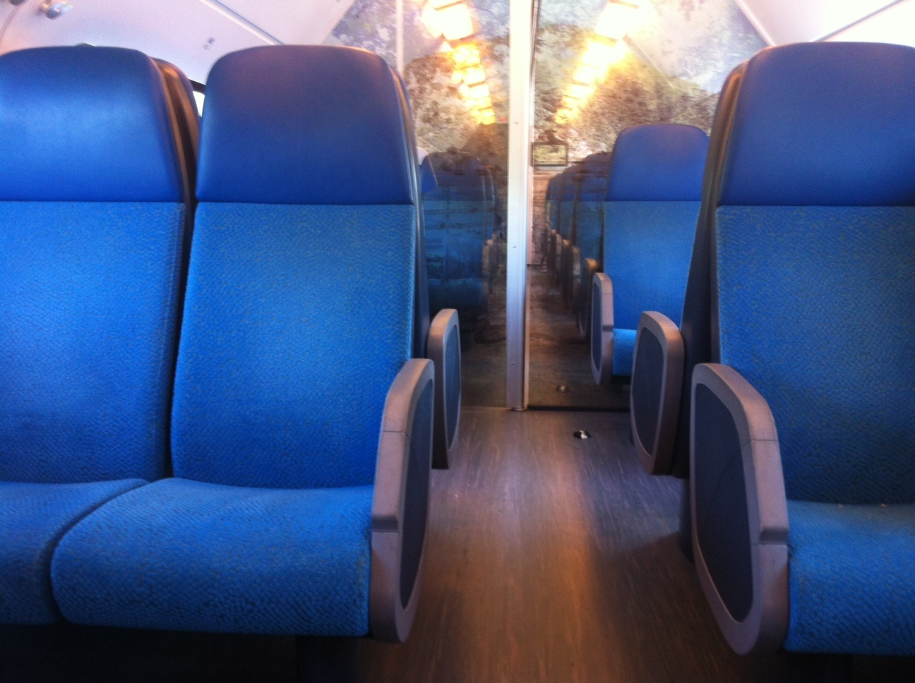 2nd class train in Holland