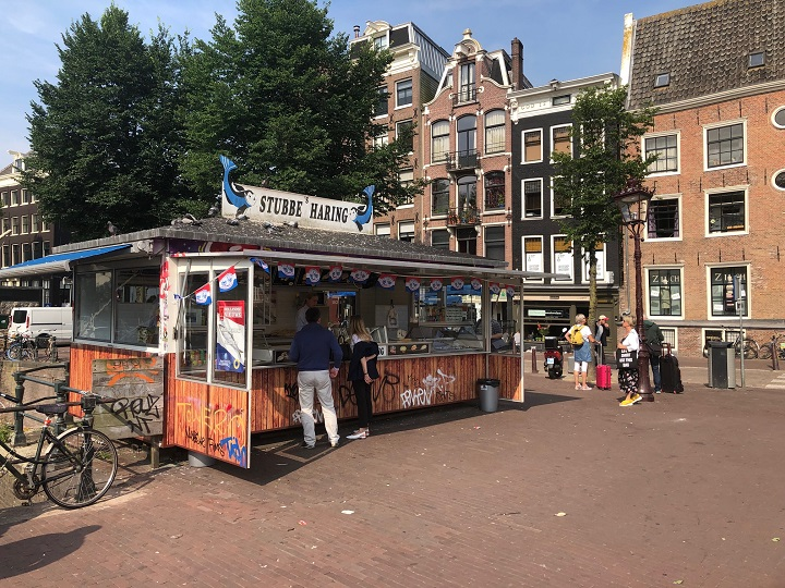 Herring in Amsterdam, Stubbe Haring