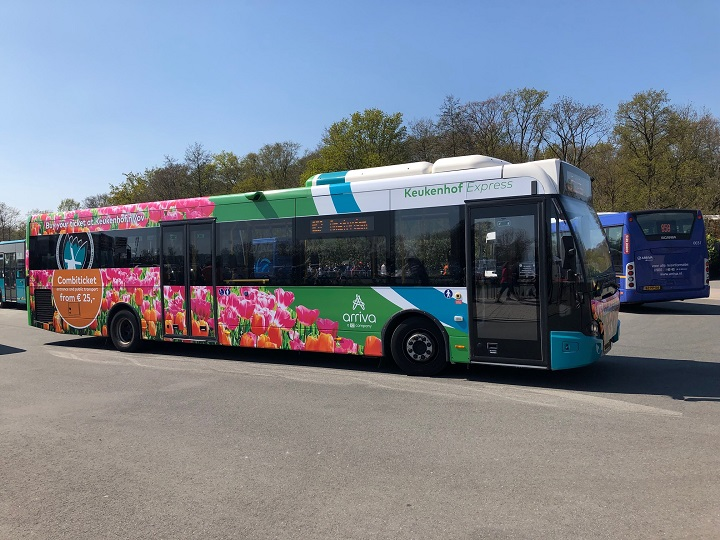 Keukenhof Express Take A Direct Bus From Schiphol To Keukenhof
