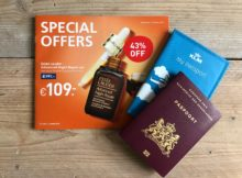 See Buy Fly folder, special offers Schiphol