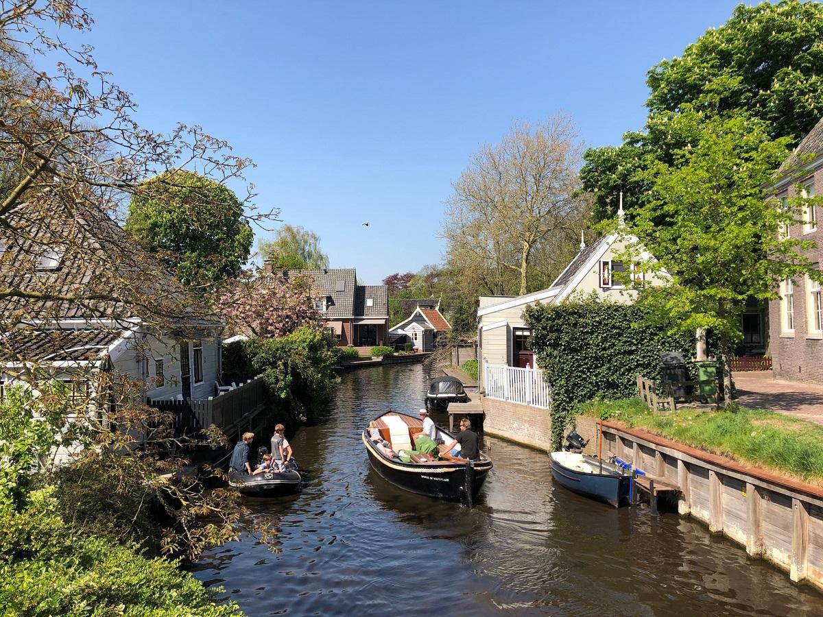 Broek in Waterland village