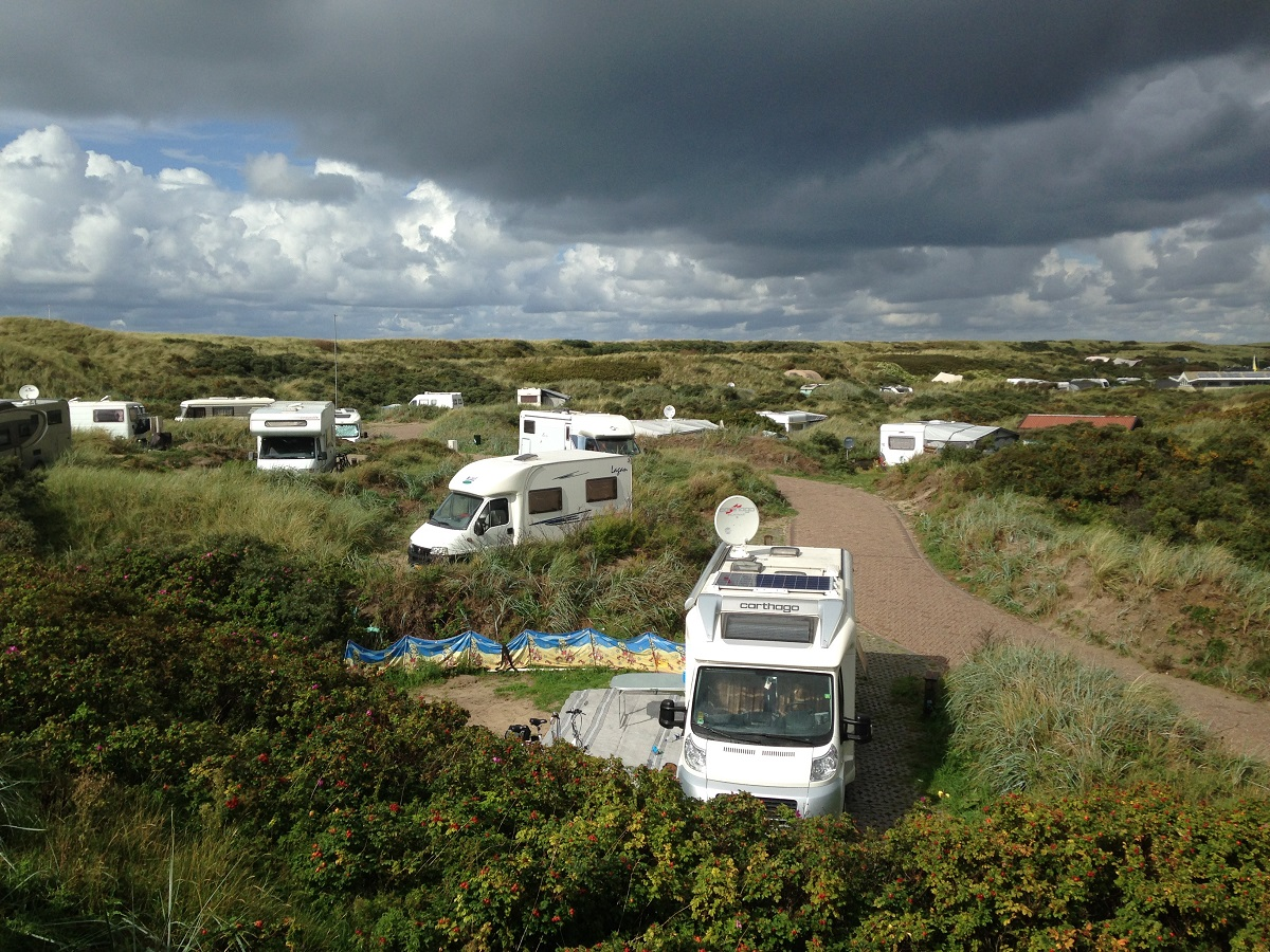 Camping on Texel