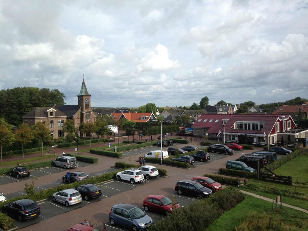 Texel island parking