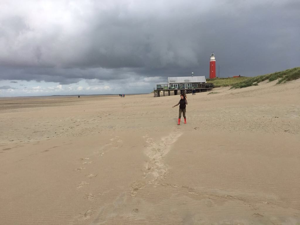 The Texel lighthouse