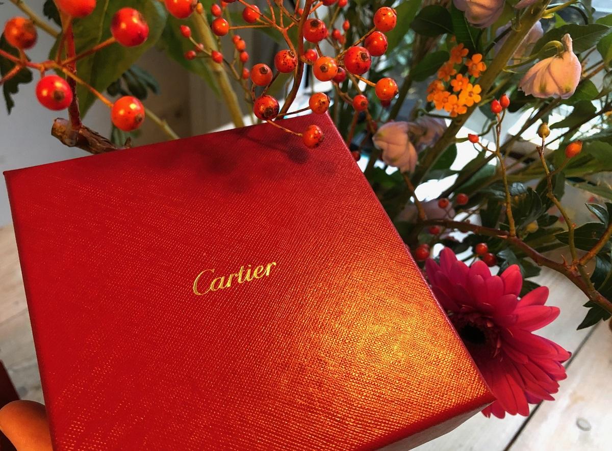 Cartier Christmas present 2020
