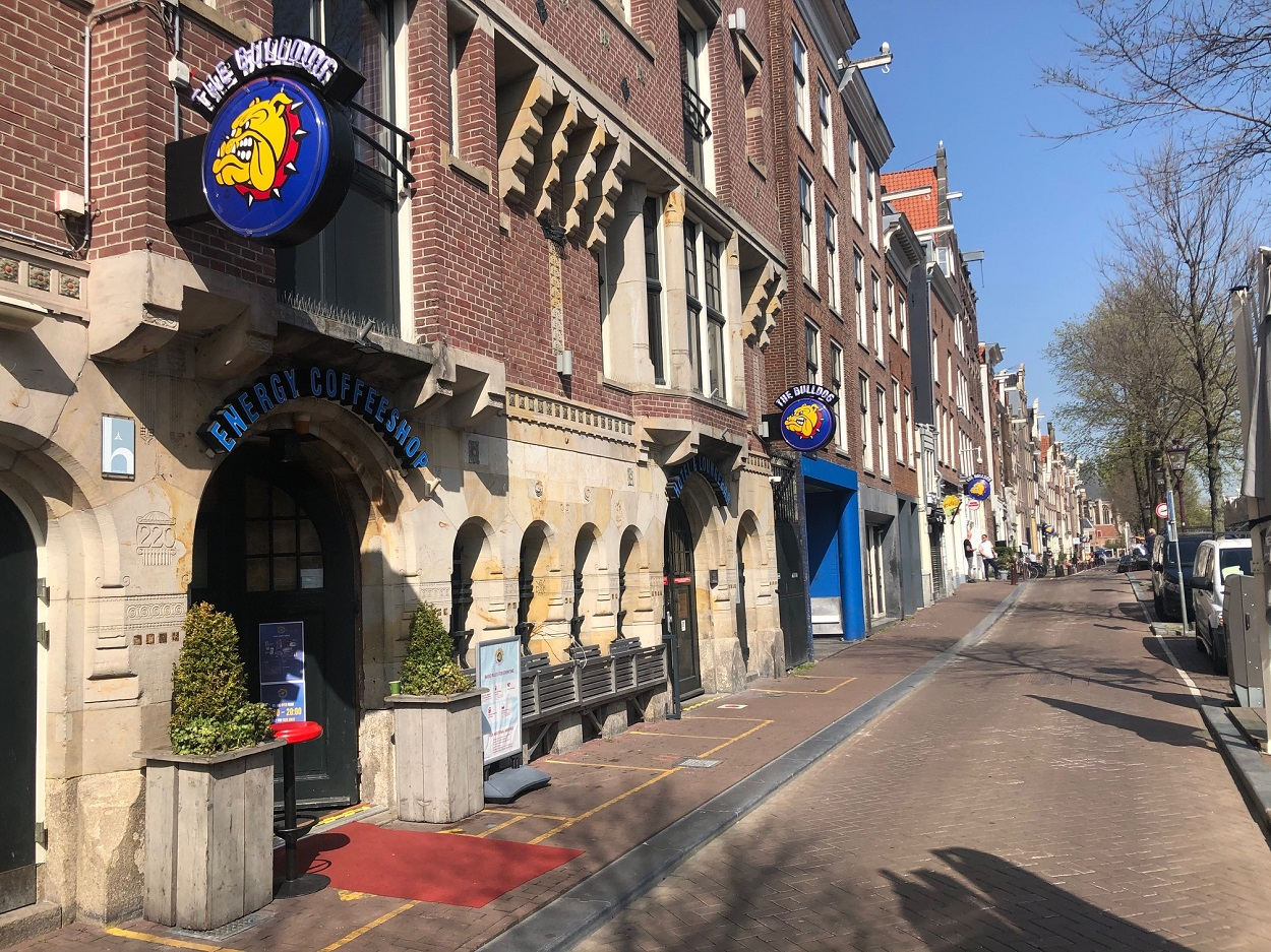 The Red Light district coffeeshops