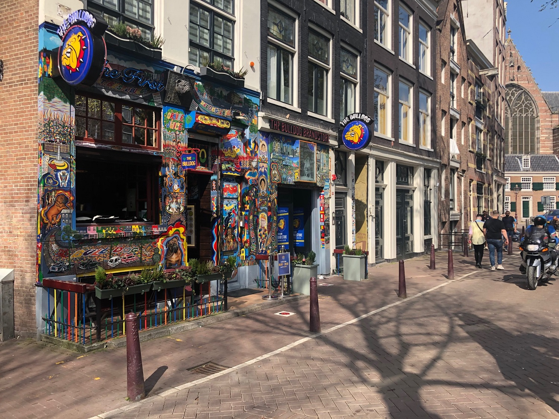 The Bulldog coffeeshop, Amsterdam