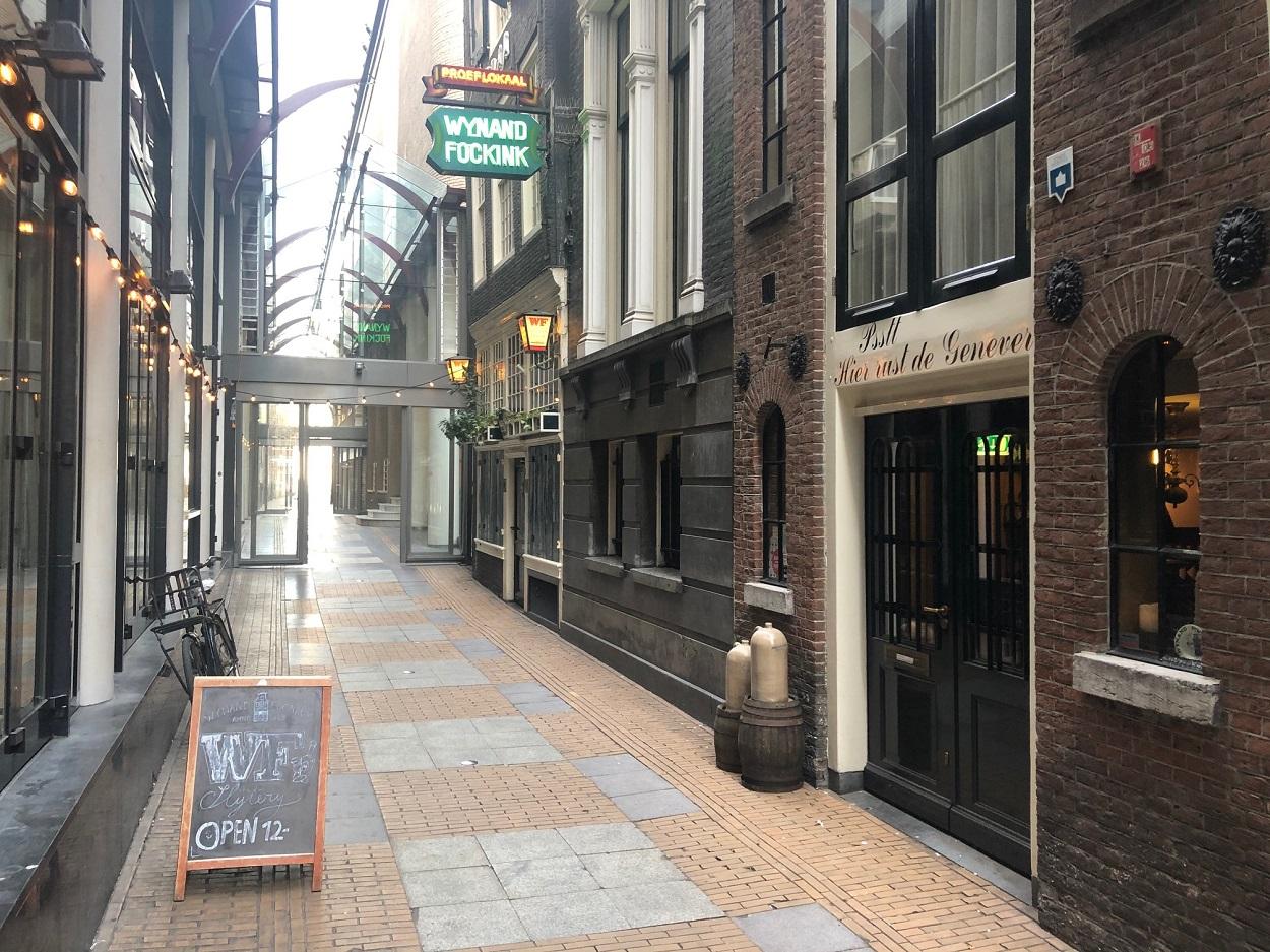 Wynand Fockink Proeflokaal Amsterdam